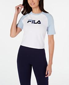 Fila Salma Colorblocked Cropped T-Shirt