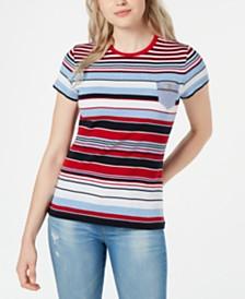 Tommy Hilfiger Striped Pocket T-Shirt