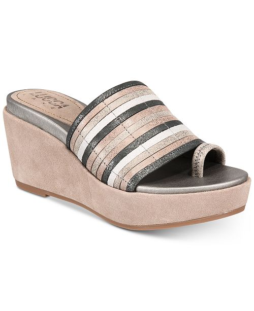 Lucca Lane Leanore Wedge Sandals