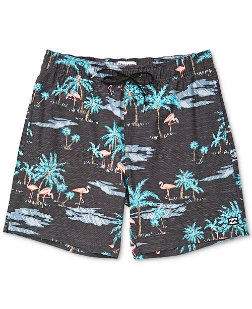 431f9440f8 Billabong Toddler Boys Sundays Layback Flamingo-Print Swim Suit ...