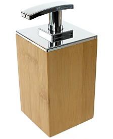 Nameeks Potus Wood Square Soap Dispenser