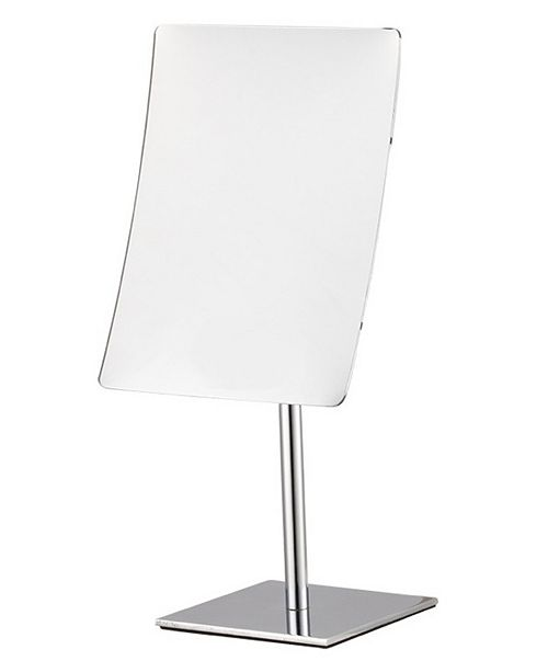 Nameeks Glimmer Rectangular Chrome 3x Makeup Mirror