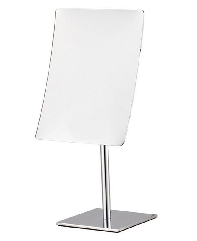Nameeks Glimmer Rectangular Chrome 3x Makeup Mirror