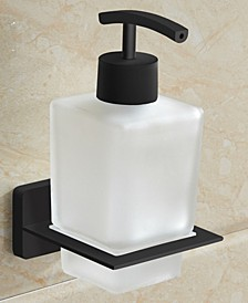 General Hotel Wall-Mounted Frosted Glass Soap Dispenser