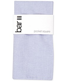 Men's Beach Solid Pocket Square, Created for Macy's