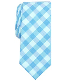Bar III Men's Palmer Slim Check Tie, Created for Macy's