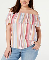 3367a20c8ce Plus Size Tops - Womens Plus Size Blouses   Shirts - Macy s