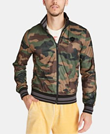 Buffalo David Bitton Men's Camo Track Jacket