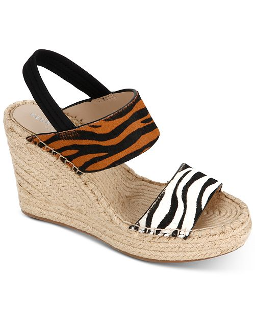 d69455ddeef Kenneth Cole New York Women s Olivia Simple Wedge Sandals   Reviews ...