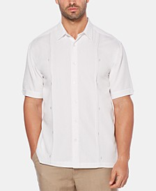 Men's Big & Tall Double Tuck Short-Sleeve Shirt