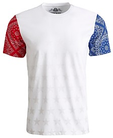 American Rag Men's Colorblocked Tonal Star Graphic T-Shirt, Created for Macy's