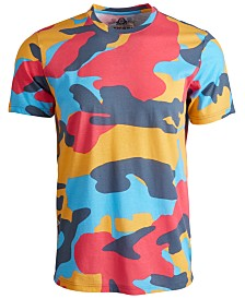 American Rag Men's Tonal Camouflage T-Shirt, Created for Macy's
