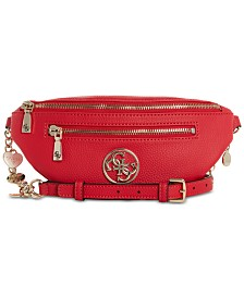 GUESS Medallion Detail Belt Bag