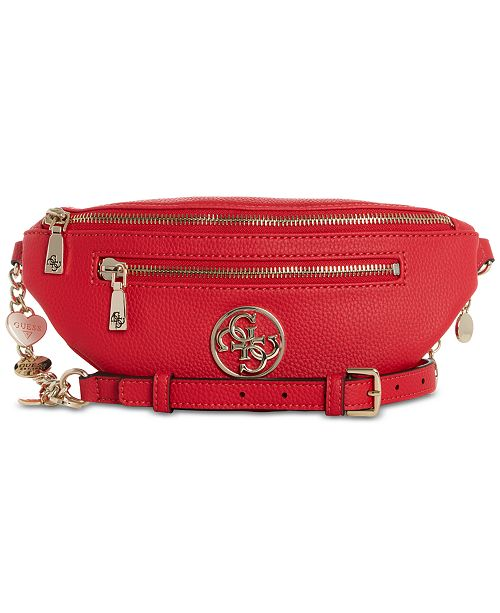 GUESS Medallion Detail Belt Bag