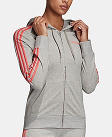 Essentials 3-Stripe Zip Hoodie