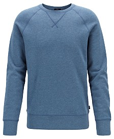 BOSS Men's Slim Fit Cotton Sweatshirt