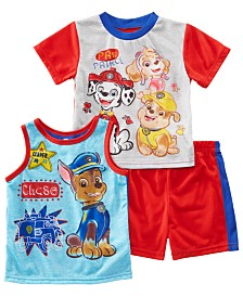 AME Toddler Boys 3-Pc. Paw Patrol Graphic Pajamas Set