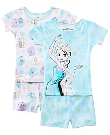 AME Little & Big Girls 2-Pack Frozen Graphic Cotton Pajamas