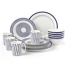 kate spade new york Charlotte Street West 16-PC Dinnerware Set