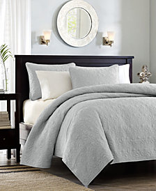 Madison Park Quebec 3-Piece King/California King Coverlet Set
