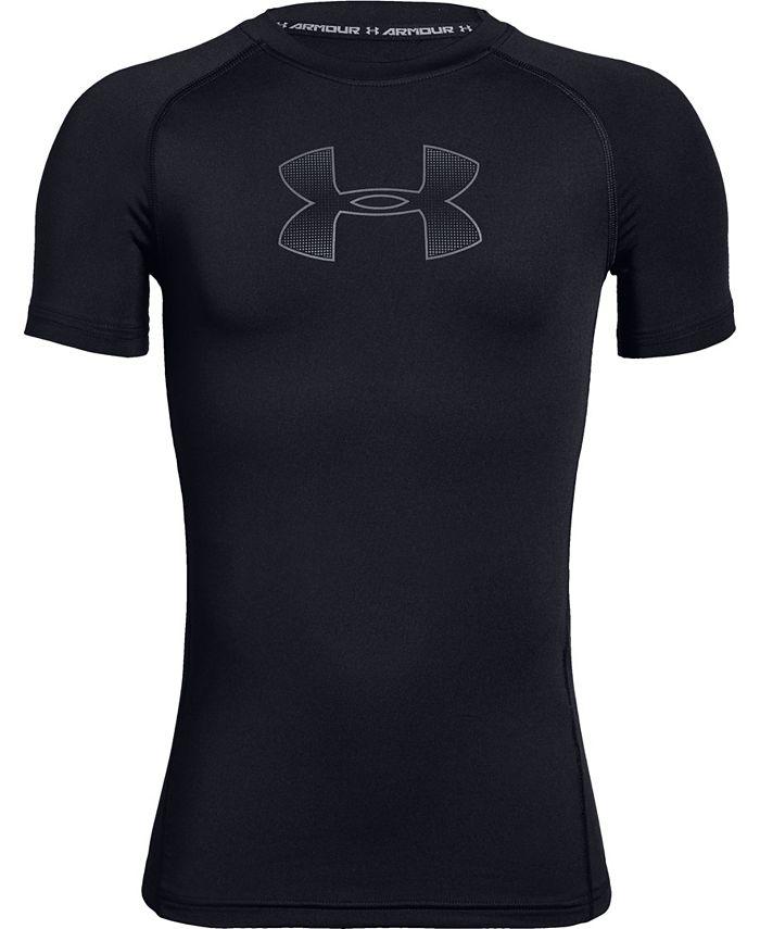 Under Armour - Boys' HeatGear® Armour Short Sleeve