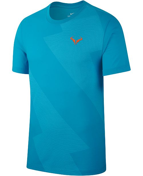 Nike Men S Rafael Nadal Dri Fit T Shirt Reviews T Shirts Men Macy S