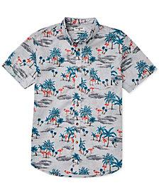 Billabong Little Boys Sundays Tropical-Print Shirt