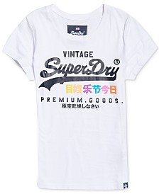 Superdry Cotton Graphic Logo T-Shirt