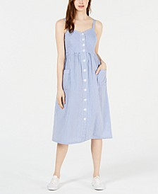 Button-Up Dress