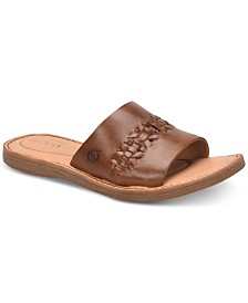 Born St Francis Flat Sandals