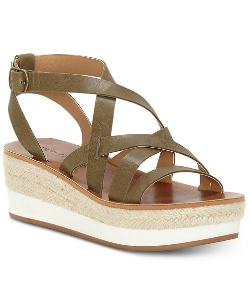 231921ee9 Lucky Brand Women's Jenepper Wedge Sandals & Reviews - Sandals ...