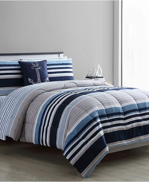 VCNY Home Cambridge 8-Pc. Bed In Bag Comforter Sets