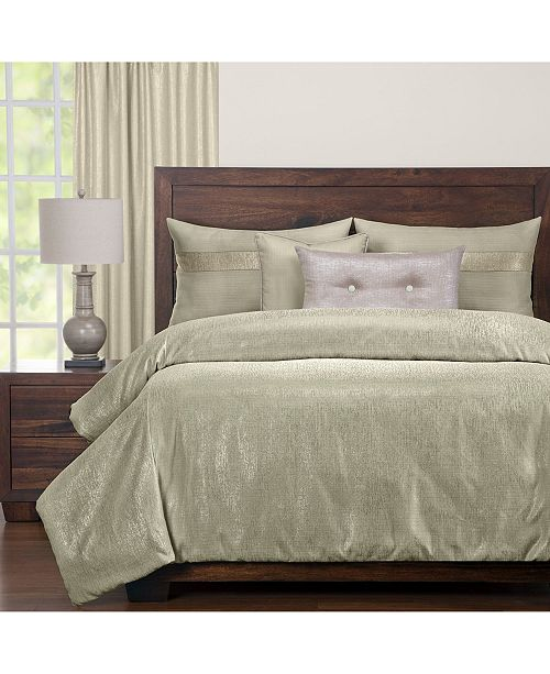 Siscovers Sparkly Herb 6 Piece Full Size Luxury Duvet Set