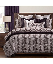 Mulholland Drive 6 Piece Full Size Luxury Duvet Set