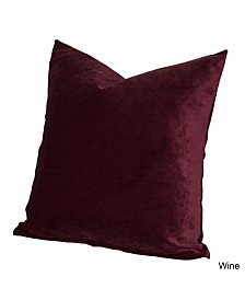 "Siscovers Padma Wine 20"" Designer Throw Pillow"