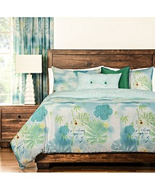 Cubana Tropical 6 Piece King Luxury Duvet Set