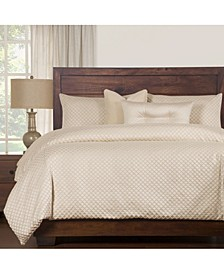 Lyra 6 Piece Full Size Luxury Duvet Set
