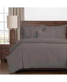 Classic Cotton Haze 6 Piece Full Size Luxury Duvet Set