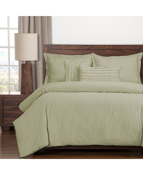 Siscovers Classic Cotton Sea Spray Luxury Duvet Set