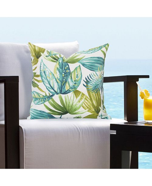 "Siscovers Indoor-Outdoor Tropical 26"" Designer Euro Throw Pillow"