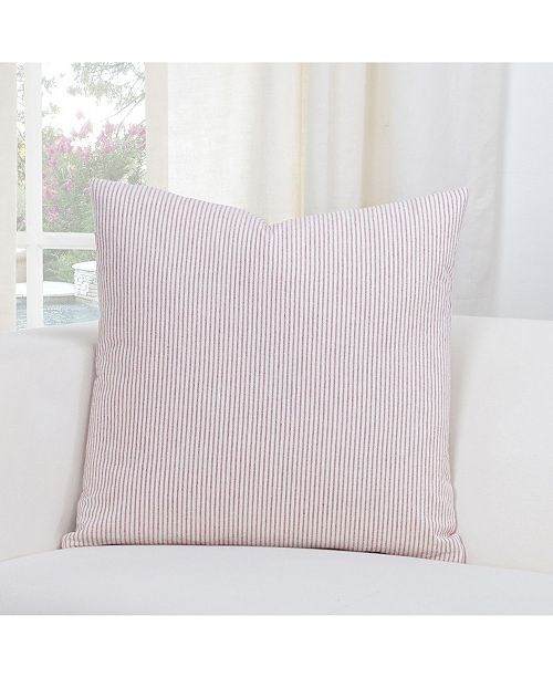 """Siscovers Heritage Brick Farmhouse 26"""" Designer Euro Throw Pillow"""