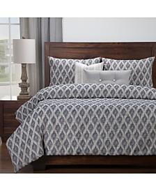 Siscovers Diamond Creek 6 Piece Full Size Luxury Duvet Set