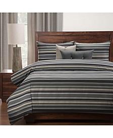 Everlast Bronson Stain Resistant 6 Piece King Luxury Duvet Set