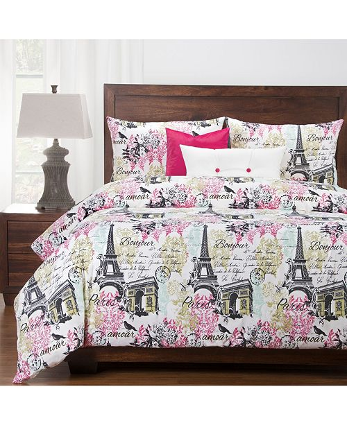 Siscovers Parks And Rec 5 Piece Twin Luxury Duvet Set