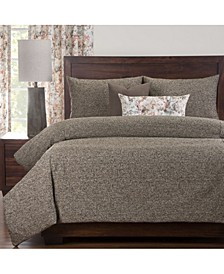 Belmont Brunette 6 Piece Cal King High End Duvet Set