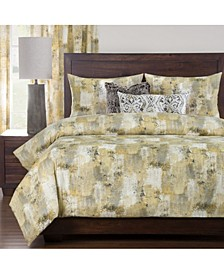 Calcutta Canary 6 Piece Full Duvet Set