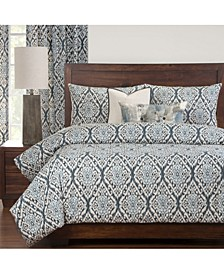 Rhodes 6 Piece Full Size Luxury Duvet Set