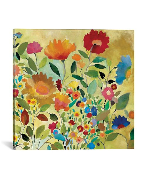 "iCanvas ""Summer Meadow"" By Kim Parker Gallery-Wrapped Canvas Print - 12"" x 12"" x 0.75"""