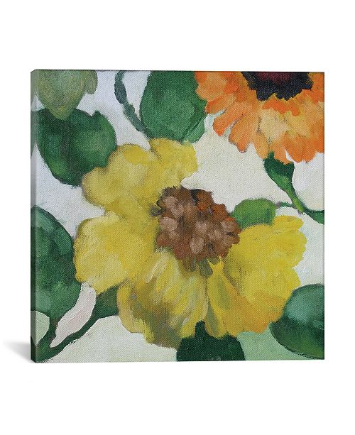 "iCanvas ""Gabrielle'S Garden Ii"" By Kim Parker Gallery-Wrapped Canvas Print - 12"" x 12"" x 0.75"""