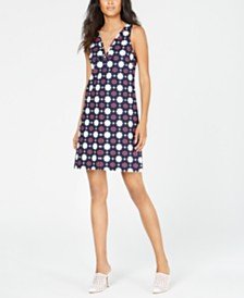 Trina Turk Printed Shift Dress